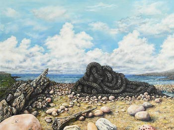 Corina Thornton, An Ode to the Fisherman at Morgan O'Driscoll Art Auctions