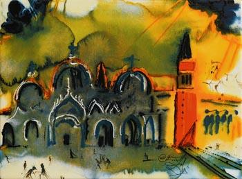 Salvador Dali, St. Mark's Square, Venice at Morgan O'Driscoll Art Auctions