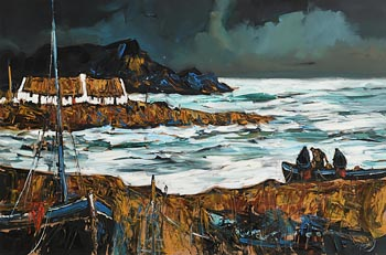 J.P. Rooney, At the Waters of Heir Island (Wild Atlantic) at Morgan O'Driscoll Art Auctions