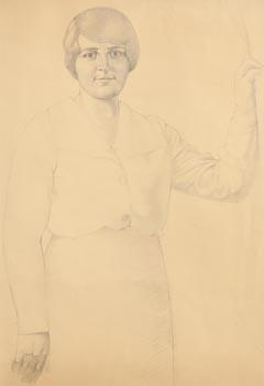 John Luke, Portrait of a Lady at Morgan O'Driscoll Art Auctions