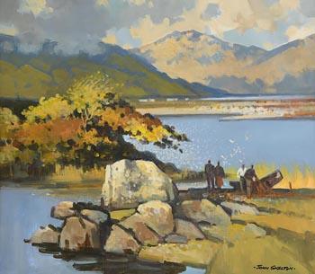 John Skelton, Autumn, Killary Harbour, Co. Mayo (2002) at Morgan O'Driscoll Art Auctions