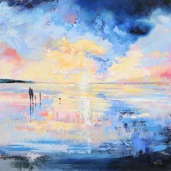 Paula McKinney, Glistening Sunset at Morgan O'Driscoll Art Auctions