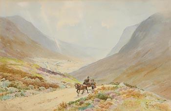 Joseph William Carey, Glengesh, Donegal (1922) at Morgan O'Driscoll Art Auctions