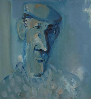 George Campbell, Donegal Farmer at Morgan O'Driscoll Art Auctions