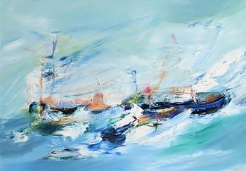 Majella O'Neill Collins, The Mark We Leave Behind (2021) at Morgan O'Driscoll Art Auctions