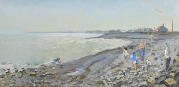 David Goldberg, Afternoon Lights at Whitestown at Morgan O'Driscoll Art Auctions