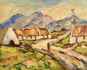 Marjorie Henry, Connemara Village at Morgan O'Driscoll Art Auctions