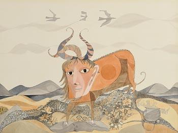 Pauline Bewick, Taurus (1968) at Morgan O'Driscoll Art Auctions