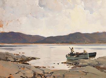 James Humbert Craig, Early Morning, Going Fishing at Morgan O'Driscoll Art Auctions