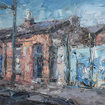 Aidan Bradley, North Strand Cottage (2008) at Morgan O'Driscoll Art Auctions