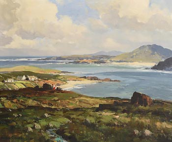 Maurice Canning Wilks, On Mulroy Bay, Atlantic Drive, Donegal at Morgan O'Driscoll Art Auctions