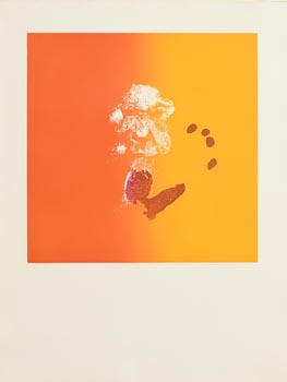Louis Le Brocquy, Head and Hand Print (1974) at Morgan O'Driscoll Art Auctions