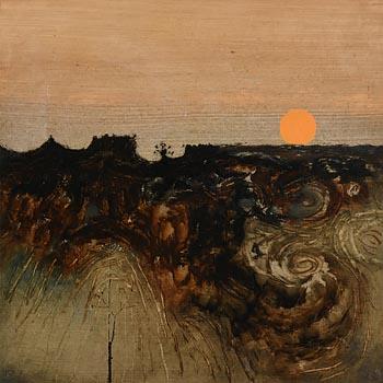Colin Middleton, Winter Sun 1970 at Morgan O'Driscoll Art Auctions