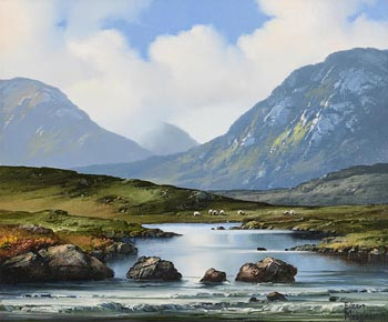 Eileen Meagher, Erriff River, Delphi at Morgan O'Driscoll Art Auctions