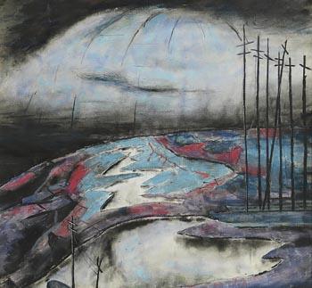 Patrick Pye, The Land's Edge (1950) at Morgan O'Driscoll Art Auctions