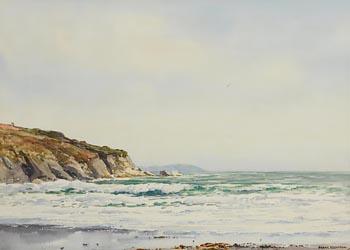 Frank J. Egginton, Rolling Breakers, North Antrim Coast at Morgan O'Driscoll Art Auctions