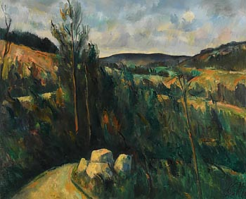 Peter Collis, Forest Road, Glencree Road, Co. Wicklow at Morgan O'Driscoll Art Auctions