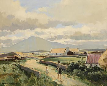 Maurice Canning Wilks, After Rain, Achill Island at Morgan O'Driscoll Art Auctions