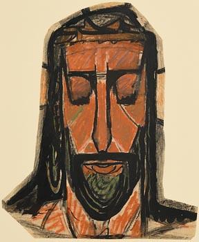 Evie Hone, Head of Christ at Morgan O'Driscoll Art Auctions