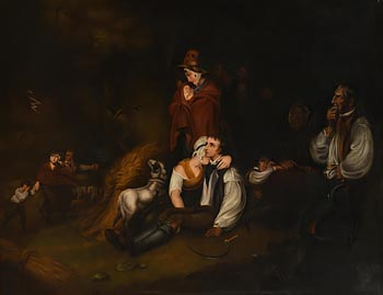 Style of Richard Westall, The Approaching Storm at Morgan O'Driscoll Art Auctions