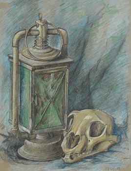 Harry Aaron Kernoff, Green Lantern at Morgan O'Driscoll Art Auctions