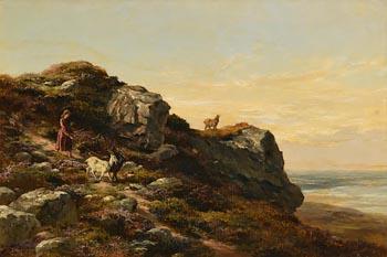 Alfred Grey, Howth (1875) at Morgan O'Driscoll Art Auctions