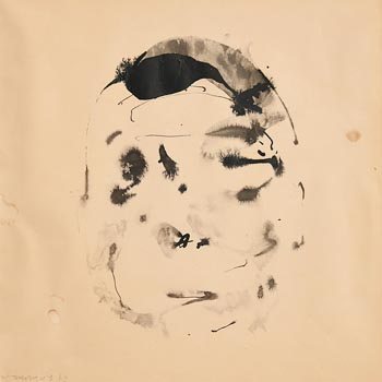 Louis Le Brocquy, Head (1969) (Opus W96) at Morgan O'Driscoll Art Auctions