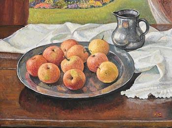 Hilda Van Stockum, Still Life (1990) at Morgan O'Driscoll Art Auctions