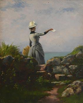 Alexander Williams, The Farewell at Morgan O'Driscoll Art Auctions
