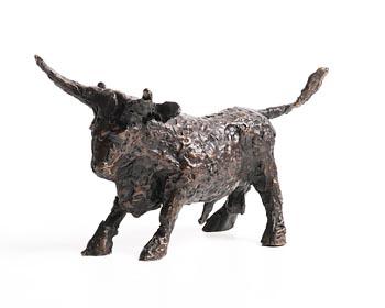 John Behan, Spring Bull at Morgan O'Driscoll Art Auctions