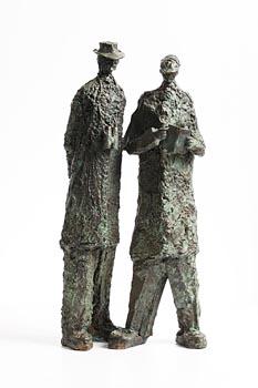 Jarlath Daly, Checking the Form at Morgan O'Driscoll Art Auctions