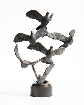 Jarlath Daly, Summer Doves at Morgan O'Driscoll Art Auctions