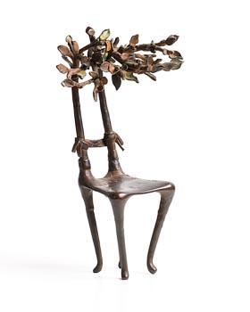 Carolyn Mulholland, The Artist's Chair (1988) at Morgan O'Driscoll Art Auctions