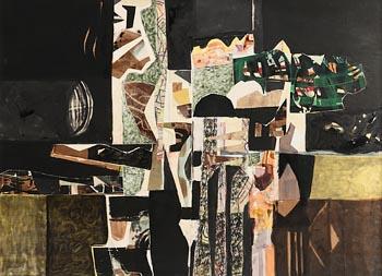 George Campbell, Landscape Shapes No. 38 at Morgan O'Driscoll Art Auctions