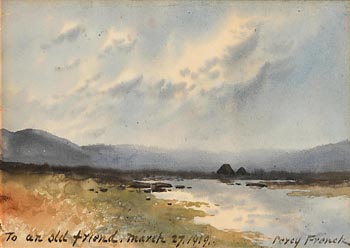 William Percy French, Connemara (1919) at Morgan O'Driscoll Art Auctions