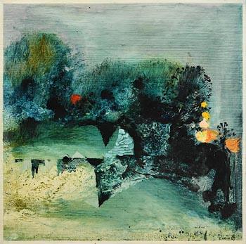 Colin Middleton, Garden, Westmeath (1971) at Morgan O'Driscoll Art Auctions