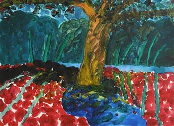 William Crozier, West Cork Garden (1985) at Morgan O'Driscoll Art Auctions