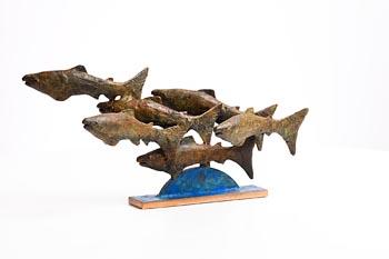 Jarlath Daly, Salmon Run at Morgan O'Driscoll Art Auctions