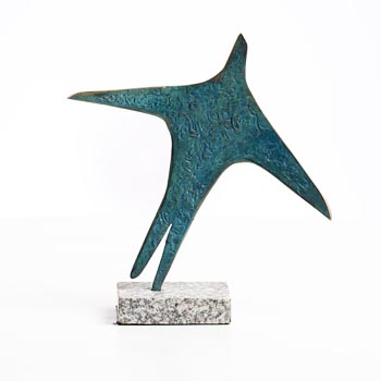 Ray Delaney, Blue Bird at Morgan O'Driscoll Art Auctions