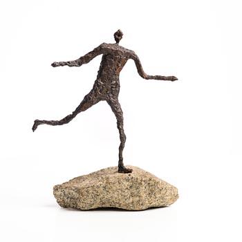 20th Century Irish School, Running Man at Morgan O'Driscoll Art Auctions
