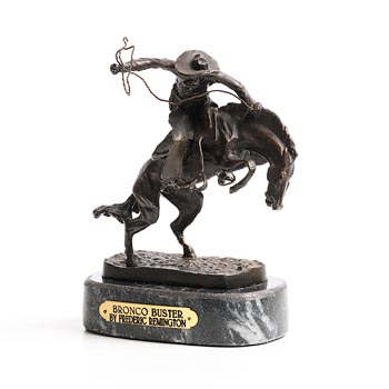 After Frederic Remington, Bronco Buster at Morgan O'Driscoll Art Auctions