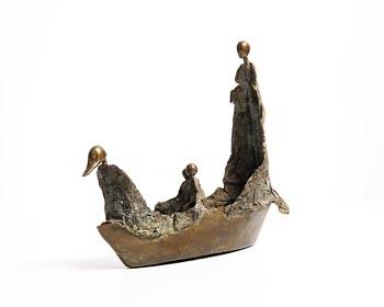 20th Century Irish School, Don't Pay the Ferry Man at Morgan O'Driscoll Art Auctions