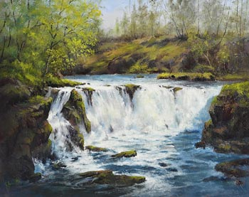 Annemarie Bourke, Clare Glens, Co. Tipperary at Morgan O'Driscoll Art Auctions