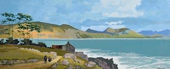 John Francis Skelton, Turn Around, Valencia, Kerry at Morgan O'Driscoll Art Auctions