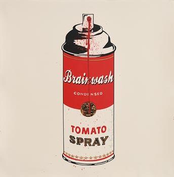 Mr.  Brainwash (b.1966), Brainwash Spray (2016) at Morgan O'Driscoll Art Auctions