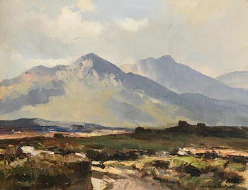 Maurice Canning Wilks, In the Maam Valley, Connemara at Morgan O'Driscoll Art Auctions
