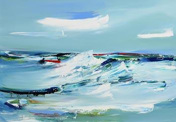 Majella O'Neill Collins, Summer Sea, Sherkin Island (2020) at Morgan O'Driscoll Art Auctions