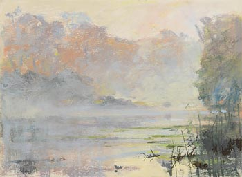 Arthur K. Maderson, Mist on the River at Morgan O'Driscoll Art Auctions