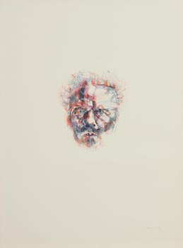 Louis Le Brocquy, August Strindberg at Morgan O'Driscoll Art Auctions