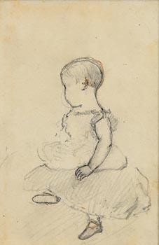 John Butler Yeats, Young Girl at Morgan O'Driscoll Art Auctions